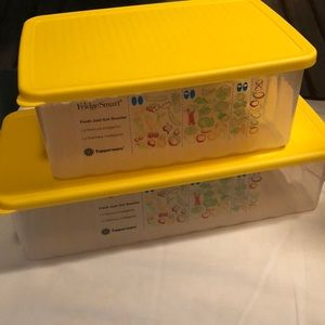 Tupperware fridge smart containers NEW